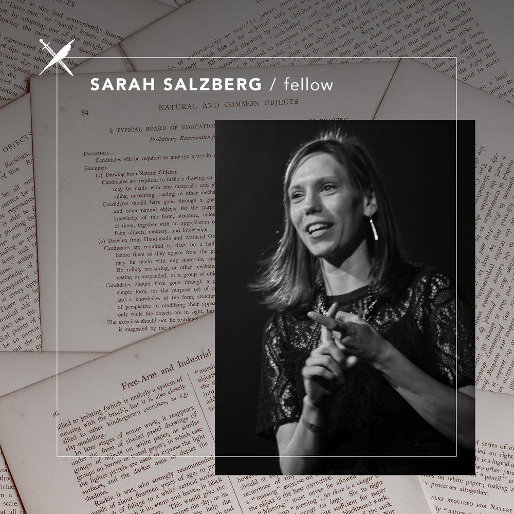 Sarah Salzberg  — Fellow
