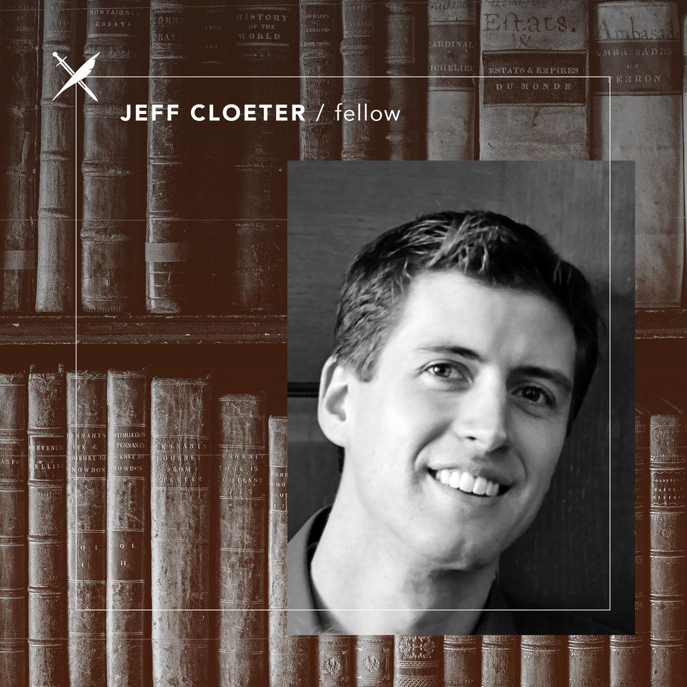 Jeff Cloeter — Fellow
