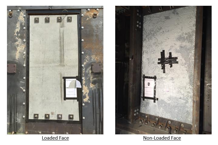 Figure 2. Post-Test Photos of Test 1