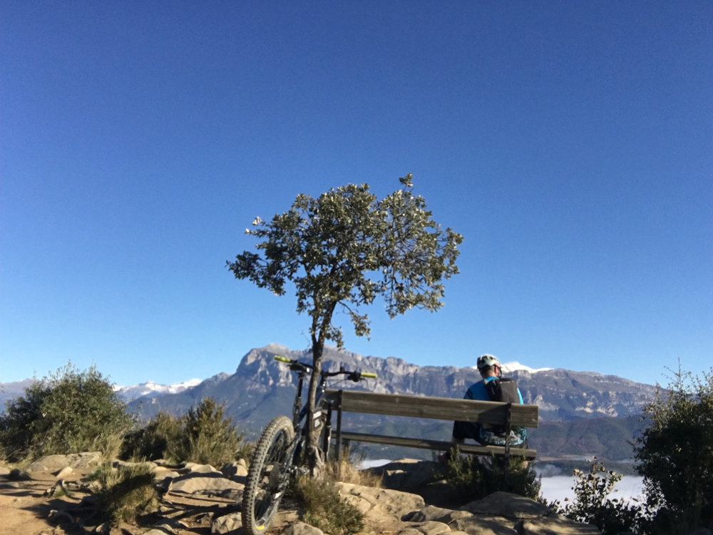 Don't forget to enjoy the views at Partara, the top of the final climb of ZZ-001