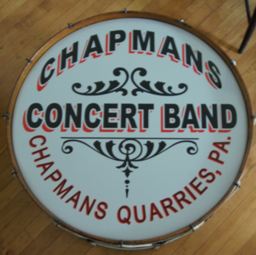 Bass Drum - Chapmans Concert Band