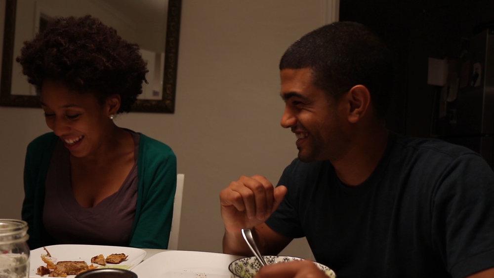 couple eating romantic dinner dallas music video.jpg