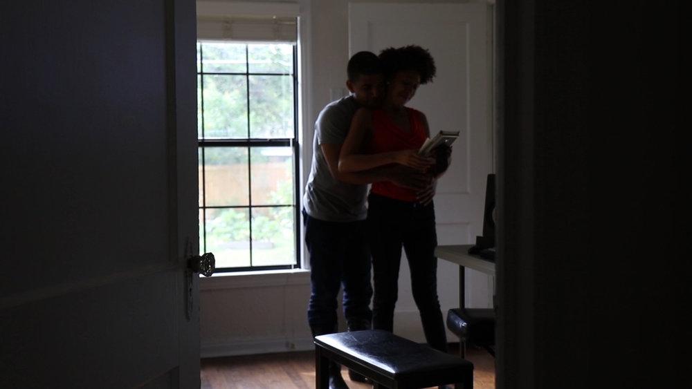 pregnant couple in love dallas music video.jpg