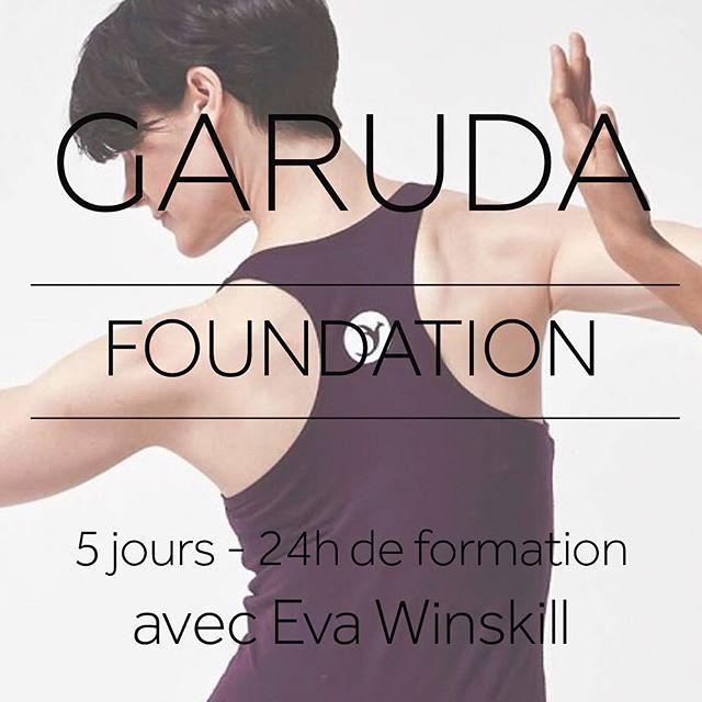 NOUVELLE FORMATION GARUDA! Date & Horaires : 26/30 JUIN 2019  26/06 : de 12h a 17h30 - du 27 au 29/06 : de 10h-13h et 14h-16h - 30/06 : de 9h-13h Lieu :  à confirmer Prix: 1200 €  pour person  Holistique, dynamique – GARUDA est une nouvelle technique révolutionnaire crée par James D'Silva. Cette discipline inspirée du Pilates, de la Danse, du Yoga et du Tai Chi est une philosophie unique et se pratique sur machine et ou au sol. Les séances alliant un travail dynamique, fluide, rythmé et mental permettent d'augmenter la force, la souplesse, la coordination et l'endurance.  OBJECTIF de la FORMATION : La base du Pilates est utilisé avec une approche différente. Apprendre à isoler un muscle et ensuite travailler les lignes myofasciaux. Cette approche est bénéfique pour les personnes qui présentent dysfonctionnement et déséquilibre. Excellent formation pour les professeurs qui souhaitent poursuivre la technique GARUDA. 5 jours - 24h de formation INSTRUCTRICE : Eva Winskill - Fit Studio Le Loft Pilates Un mois gratuit accès online au vidéo, vous sera offert après chaque formation. PLACES LIMITÉES : MAX 15 PARTICIPANTS .  Info & Reservation : info@agustinawellness.com . . . . #bordeaux#bordeauxfrance#bordeauxmaville#bordeauxcity#bordeauxmetropole#bordeauxgaruda #bordeauxpilates#bienetrebordeaux #pilatesbordeaux#ifnotnowwhen#bienetre #ifyouhaventfoundityetkeeplooking #keepgoing #livethelifeyoulove #garudabarre @thegarudastudio #moveforfreedom #garudafrance @fitstudioleloftpilates