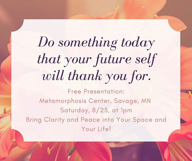 Love to meet you this Saturday at 1pm at the Metamorphosis Center's Healing and Intuitive Fair! I'll be speaking about bringing clarity and peace into your space and your life! Hint: I will be using the Oracle Card deck in my talk.  #healing #oraclecards #clarity #peaceful