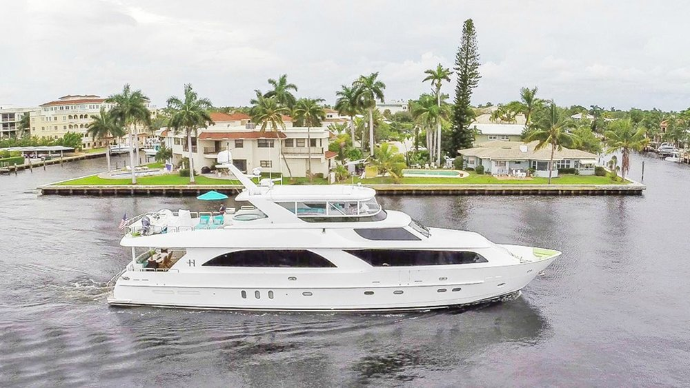 M/Y Cynderella   On-Deck VIP stateroom and Full beam master below. Plus Toys, Toys, Toys!
