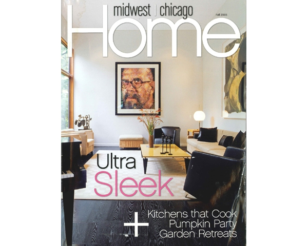 HOUSE FOR AN ART COLLECTOR MAKES COVER OF MIDWEST CHICAGO HOME - The Fall 2005 issue of Midwest Chicago Home provides a detailed review of the House for an Art Collector. posted on October 1, 2005 at 8:45am
