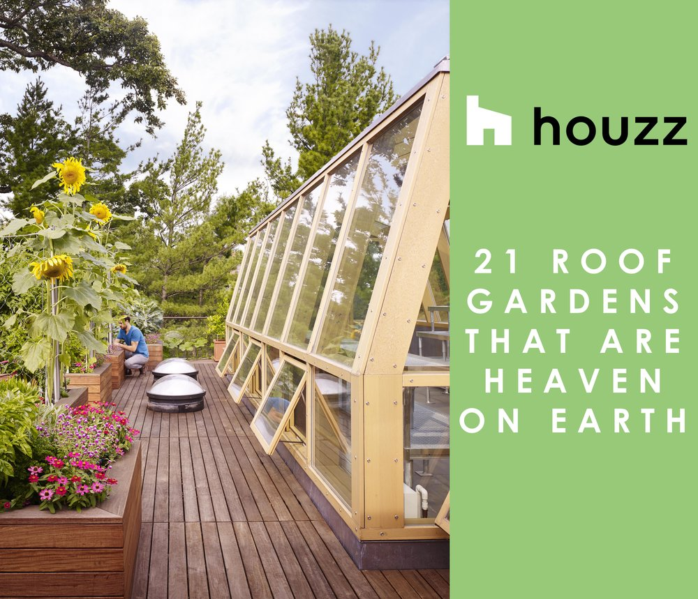 "LAKE VIEWMODERN FEATURED ON HOUZZ - The rooftop garden and green house of our Lake View Modern project was featured in a recent article on Houzz: ""21 Roof Gardens That Are Heaven On Earth."" Read more here.posted October 02, 2018 at 11:44am"