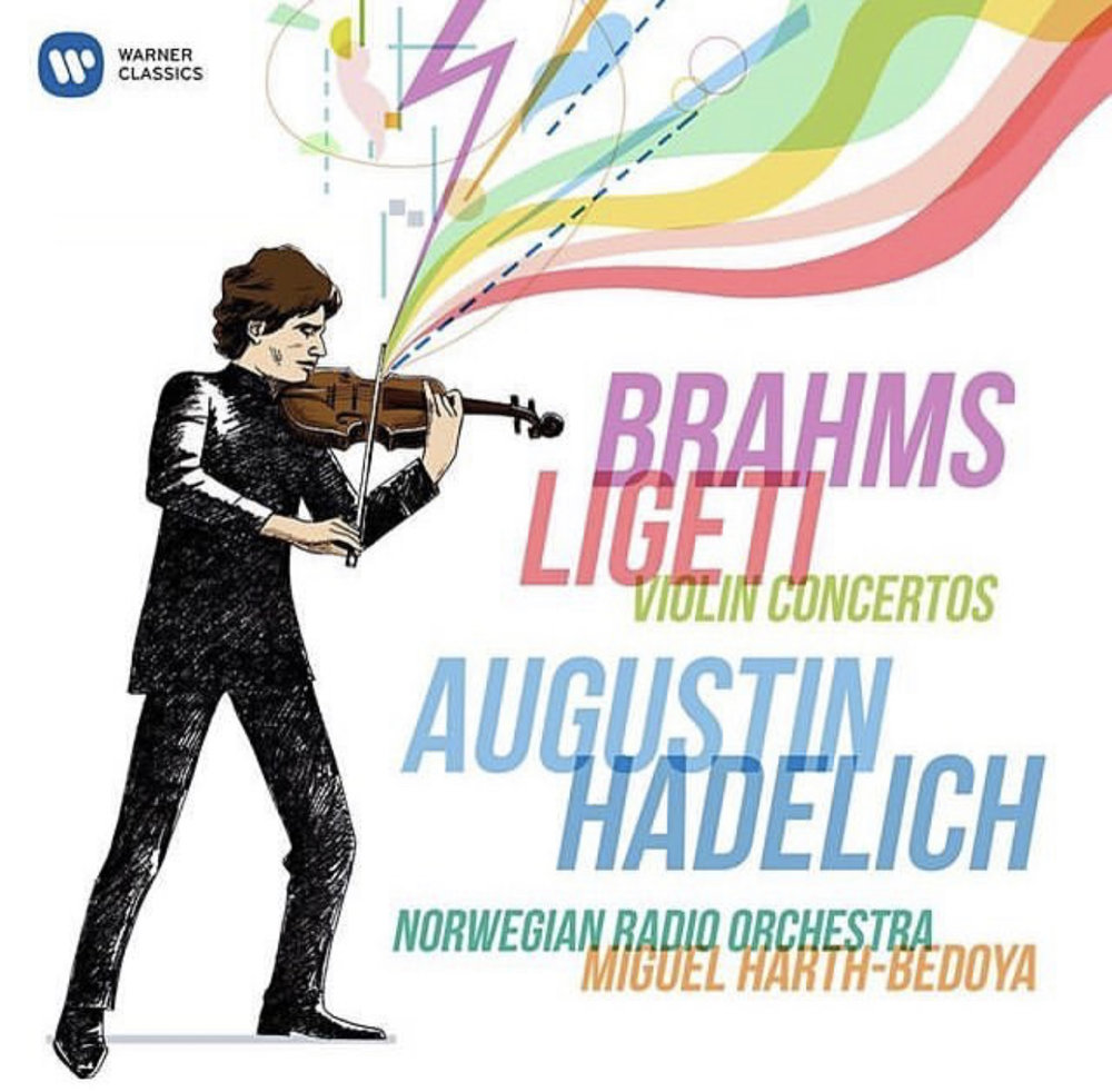 Brahms & Ligeti: Violin Concertos - Augustin Hadelich, ViolinNorwegian Radio OrchestraMiguel Harth-Bedoya, ConductorBRAHMS: Violin Concerto in D major, Op. 77LIGETI: Concerto for Violin and OrchestraWinner of the Warner Prize, on this new recording of the concertos by Brahms and Ligeti, the Ligeti Concerto includes new cadenzas written by Thomas Ades especially for Augustin Hadelich – never-before recorded.Released April 12, 2019Purchase on iTunes and Amazon.com