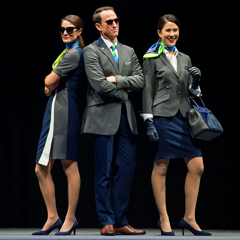 Alaska Airlines 2018 Uniform Reveal