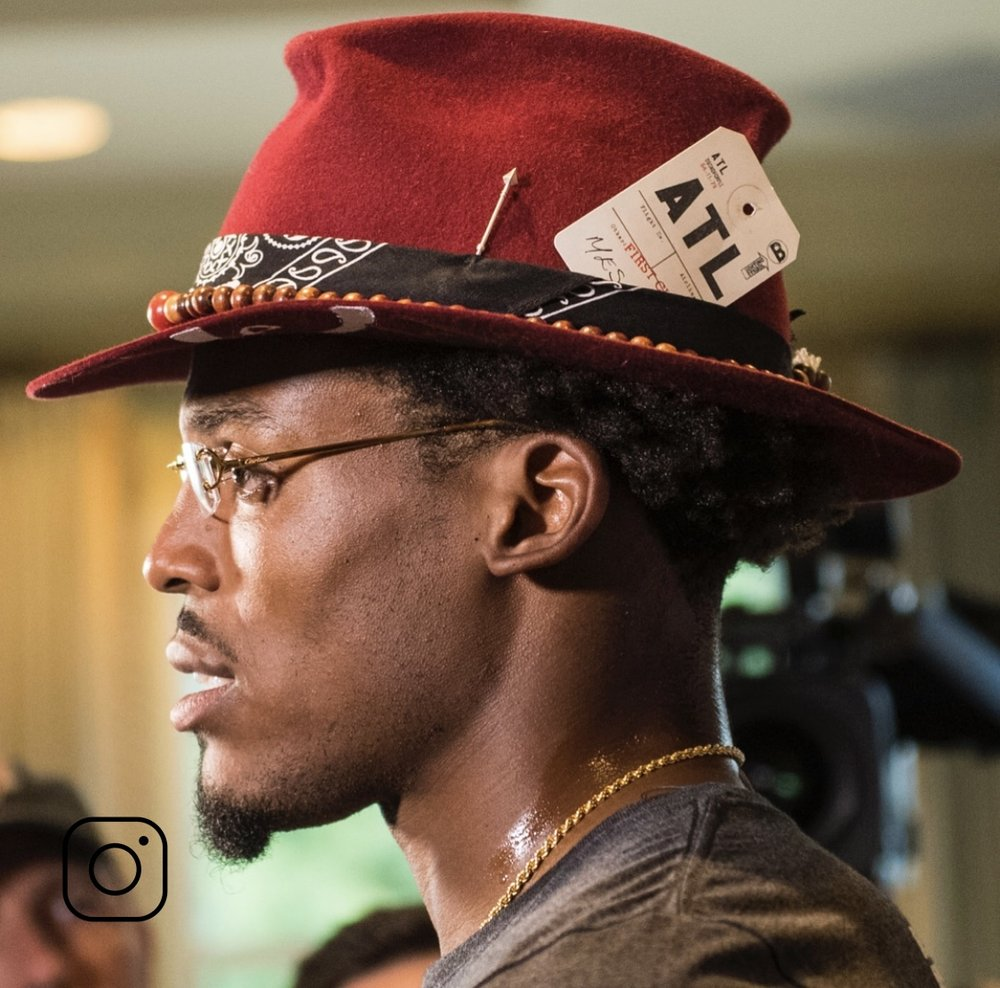 """The best hat drench in the game - Handsdown -"" @Cameron1Newton"