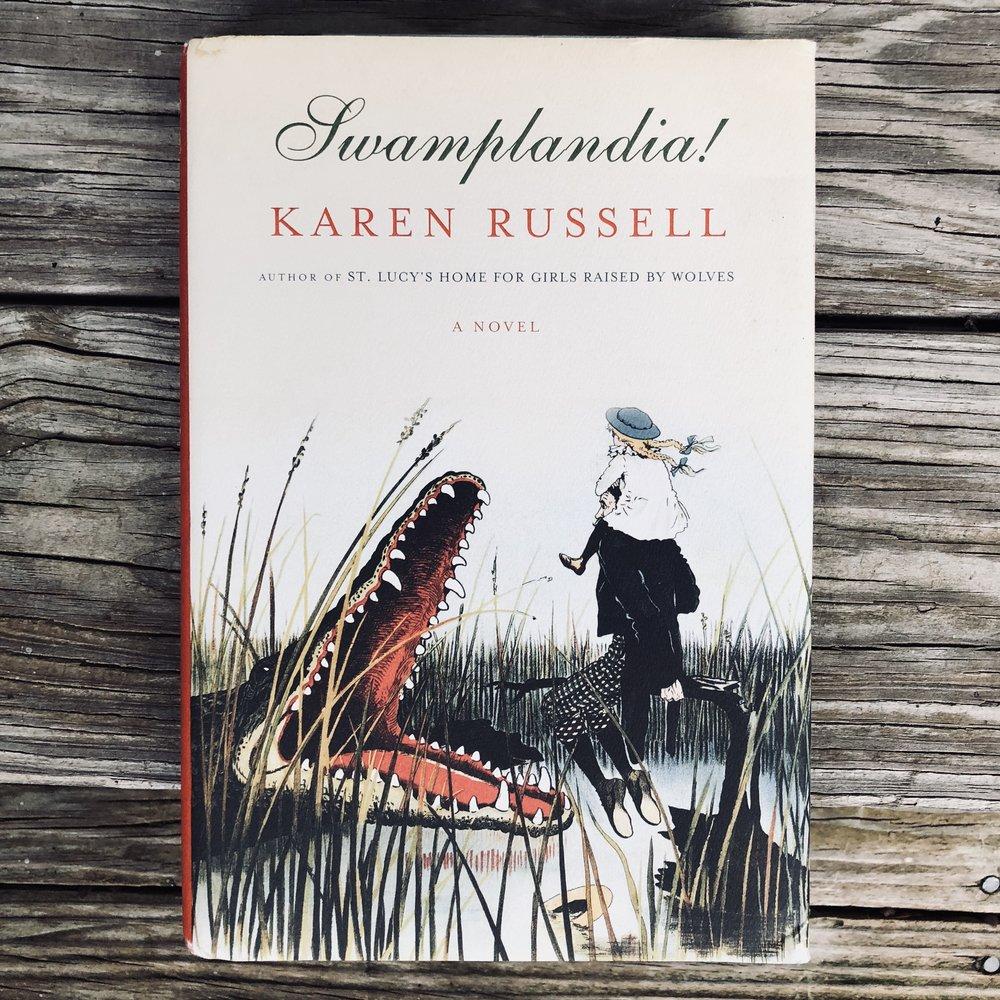 Swamplandia! by Karen Russell.