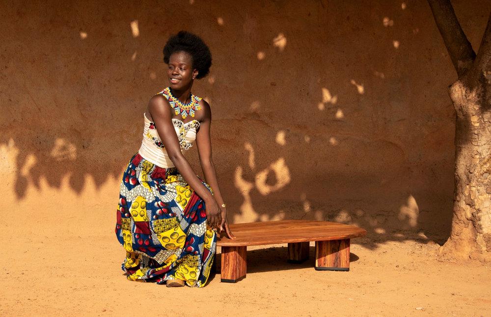 Direction le Burkina Faso pour la première collection !