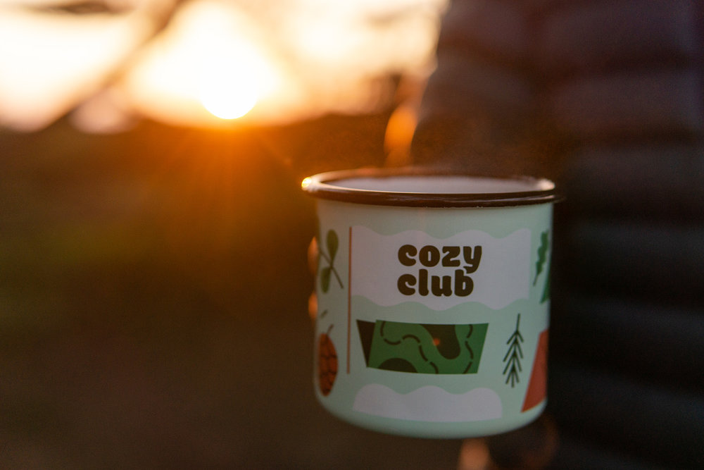 Camp mugs - Camp mugs for at home and in the mountains.