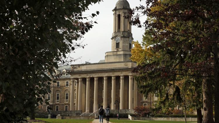 Penn State University officials say a student is being treated for bacterial meningitis. -