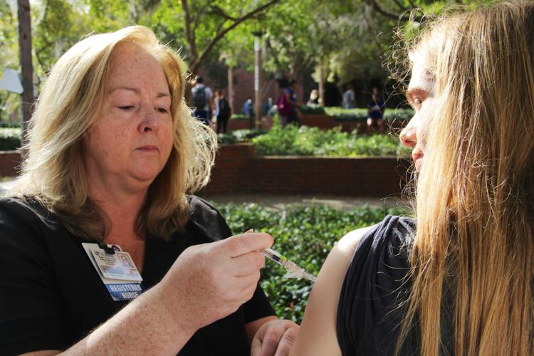 The goal is for UF to require the type B vaccine within the next year or two -