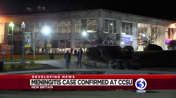 """Central Connecticut State University is taking precautions after learning of a case of meningitis."" -"