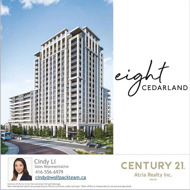 #Repost @hildachann ・・・ 📍 eight CEDARLANE . Markham's exciting and long awaited project is launching very soon! ⚜️⚜️⚜️ This luxurious condo is conveniently located at the heart of downtown Markham, offering an incredible location for investors. Eight Cedarlane condos is for anyone who likes endless possibilities right outside their doorstep. . Eight Cedarlane Highlights: 📍Warden/Highway 7 🏗H&W Developments 🏢530 Units, 1-3 bedroom suites 💰 Starting from the mid $400's 🏡 Est. Occupancy Fall 2023 💎Luxury finishes 🌳2 Future parks on each side of building 🏋️🏻♂️30,000 sq ft state of the art amenities 🚇Steps to YRT, Unionville GO Train 🚗 Convenient access to Hwy 407, 404 📚Close proximity to York University, Seneca College, top ranked public and private schools 🎯 Markville Mall, restaurants, entertainment, Pam am centre, Markham VIP Cineplex, multinational high-tech companies, and many more. . . DM for more details, platinum VIP access - special offers, floor plans and price lists. . . #torontorealestate #torontorealtor #realtor #realestate #realestateagent #realestateinvestor #realestateinvesting #gtarealestate #torontoluxuryhomes #torontohomes  #torontocondos #realestate #toronto #the6 #the6ix #markham #richmondhill #vaughan #thornhill #northyork #toronto_insta #torontolifestyle #gta #yorkregion #416 #the6ix #torontolife #luxurylifestyle