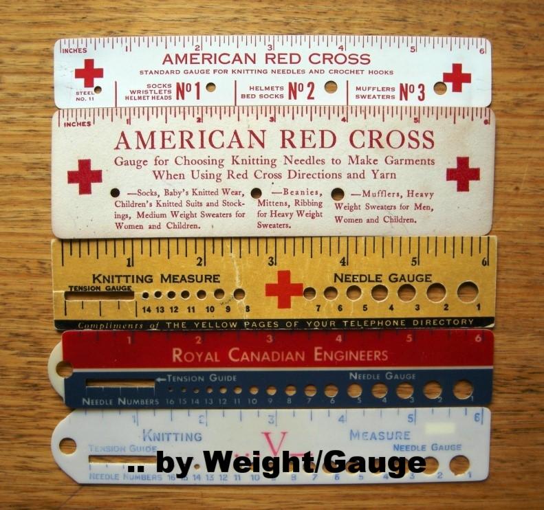 click Yarn List by Weight/Gauge