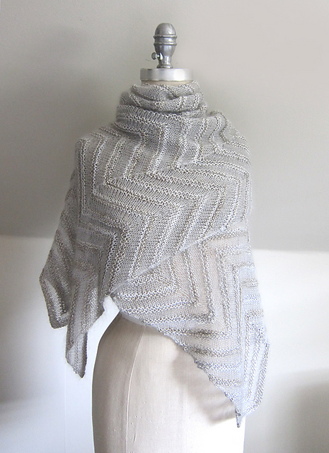 Chevron Cloud Shawl