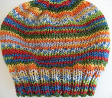 Child's Selfstriping Hat