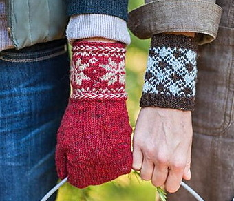 Colorwork Cuffs & Mittens