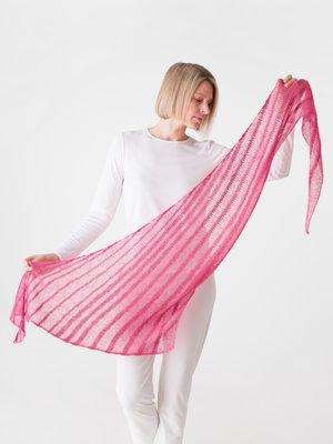 Ossa - Bias Striped Shawl
