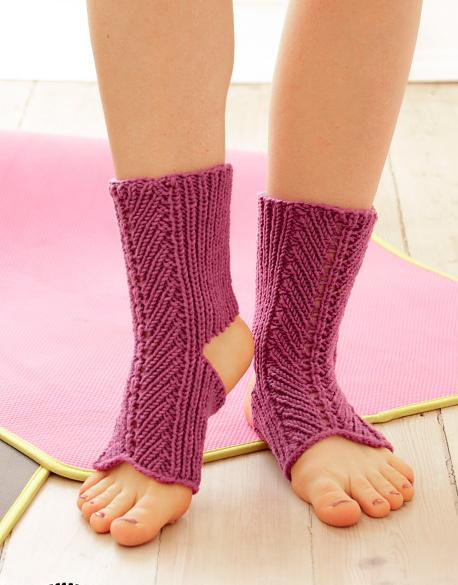Stretch Out Yoga Socks