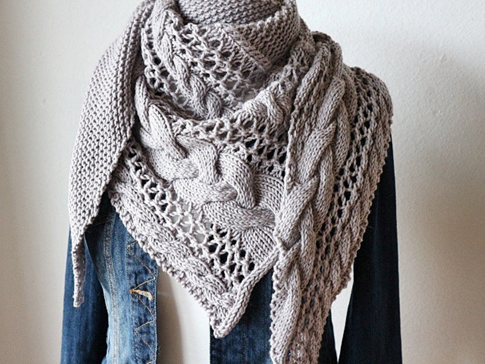 Cozy Winter Shawl