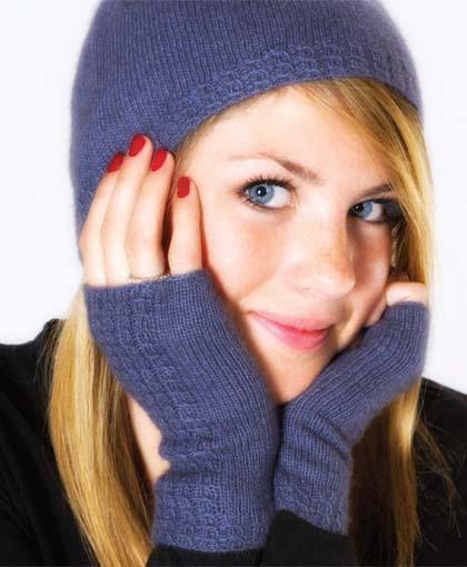 Light as Air Fingerless Gloves