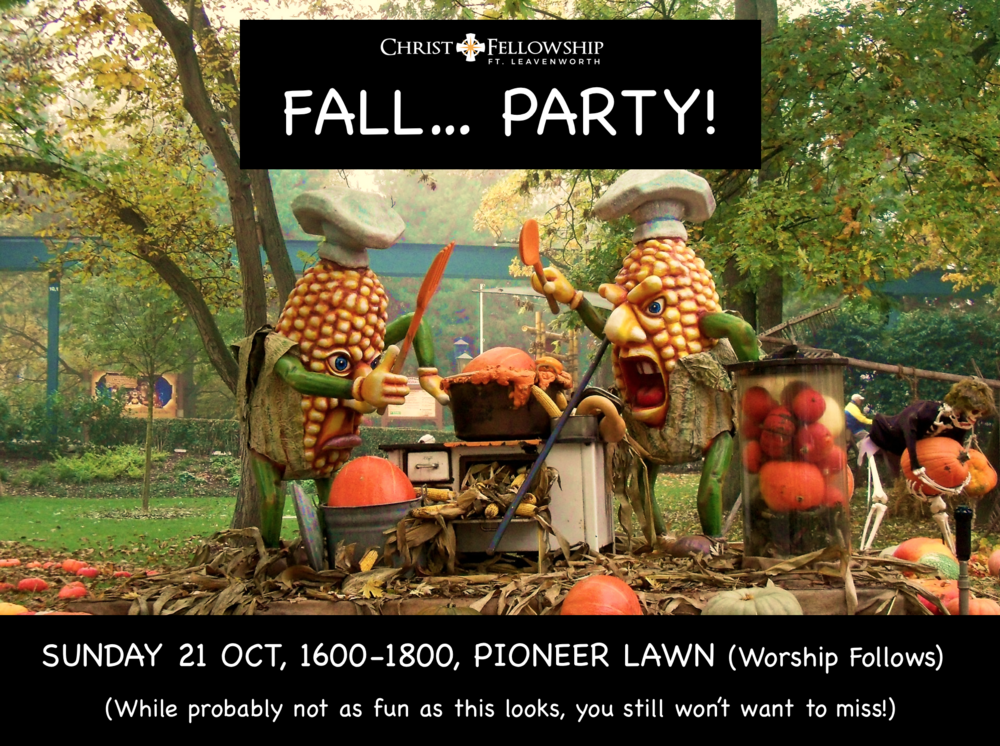 Christ Fellowship Fall Party