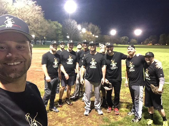 IG First softball game!