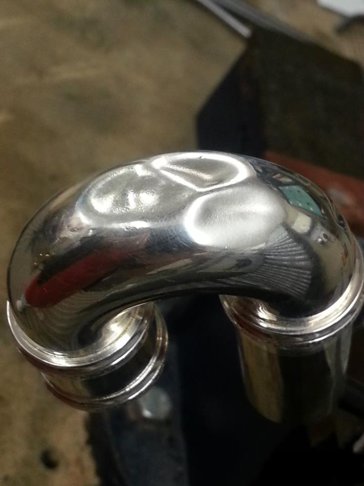 Flute head - dint repair