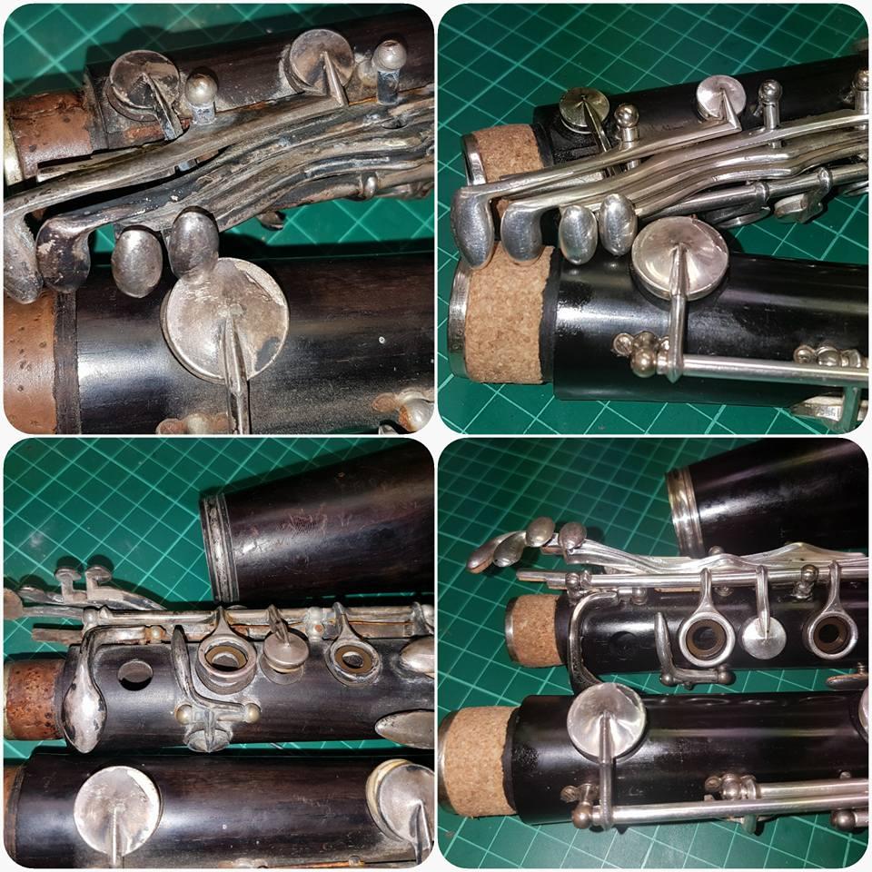 Clarinet overhaul