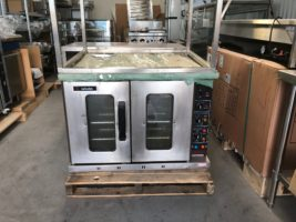 Moffat E1100 Baking Oven & Stand with Shelf – USED   $1,950.00 + GST & Freight   3 Phase Electric  Dimensions : 1000W x 930D x 1650H On Stand