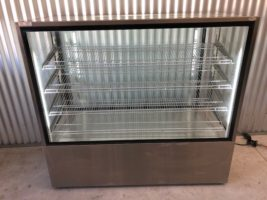 Festive Ambient York Display Cabinet YA15 – Used   $3,500.00 + GST   10 Amp – Free Standing  Dimensions : 1530W x 640D x 1400H