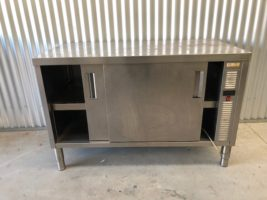 Electrolux Hot Cupboard ** Heat Function not Working ** Cupboard Only – Used   $500.00 + GST   DOES NOT HEAT – make s a Great Stainless Cupboard or Bench or you can repair it – CLEARANCE  Dimensions : 1400W x 700D x 900H