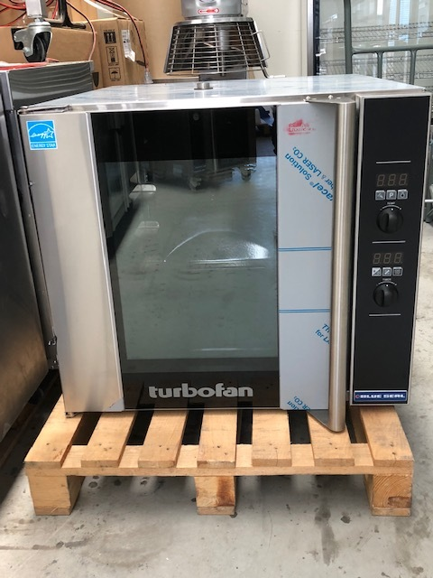 Turbofan E32D4 Oven - AS NEW   $4,250.00 + GST   *Stand Sold Separately   http://www.moffat.co.nz/products/turbofan-e32d4-full-size-tray-digital-electric-convection-oven   Outstanding Baking Oven, 4 x 460 x 660 Pan Capacity, Water Connection, 27Amp Single Phase  Dimensions : 735W x 810D x 730H + Stand
