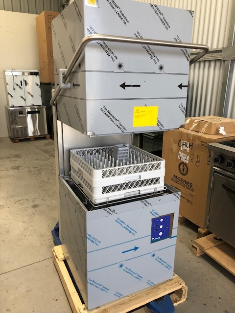 Eurowash EW393 Pass Through Dishwasher - New   $ 5,7250 + GST   Drain Pump, Rinse Pump, Chem Pumps, Fully Insulated, 25 Amp, Global Brand, Outstanding Reliability & Backup  Dimensions : 706W x 735D x 1529H  Bench Gap is 630mm