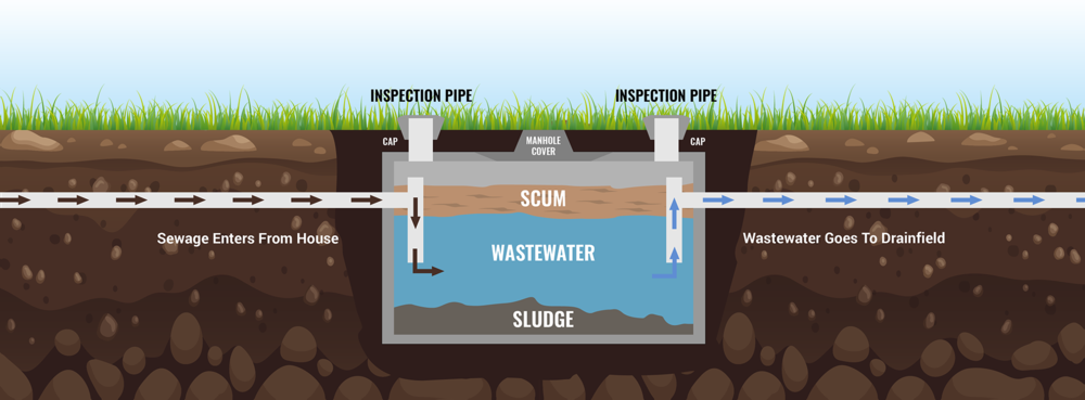 Septic System Diagram