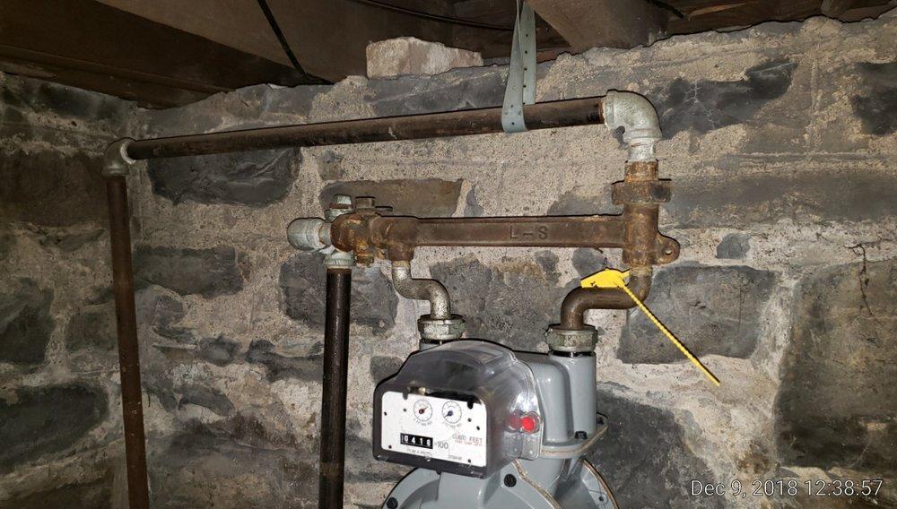Natural Gas Shutoff at the Gas Meter