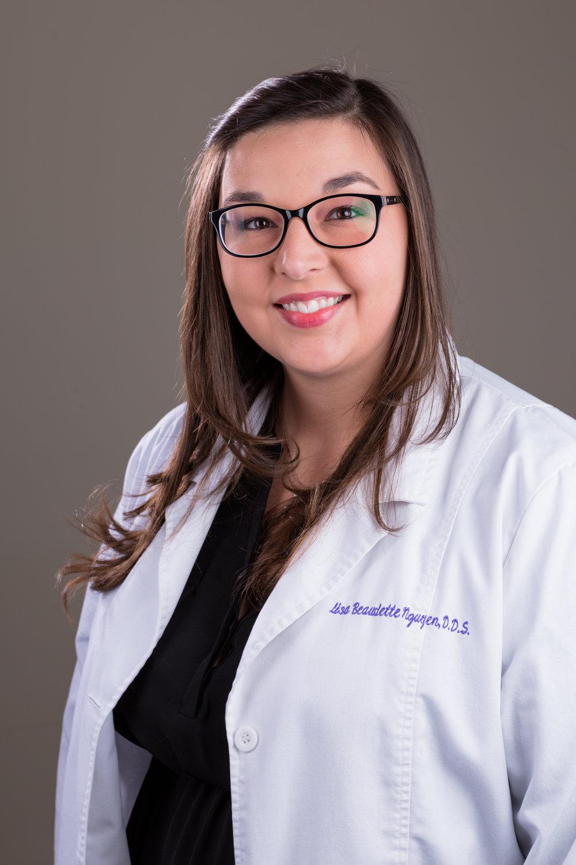 Dr. Lisa Beaudette Nguyen, DDS.  Chief Dental Officer