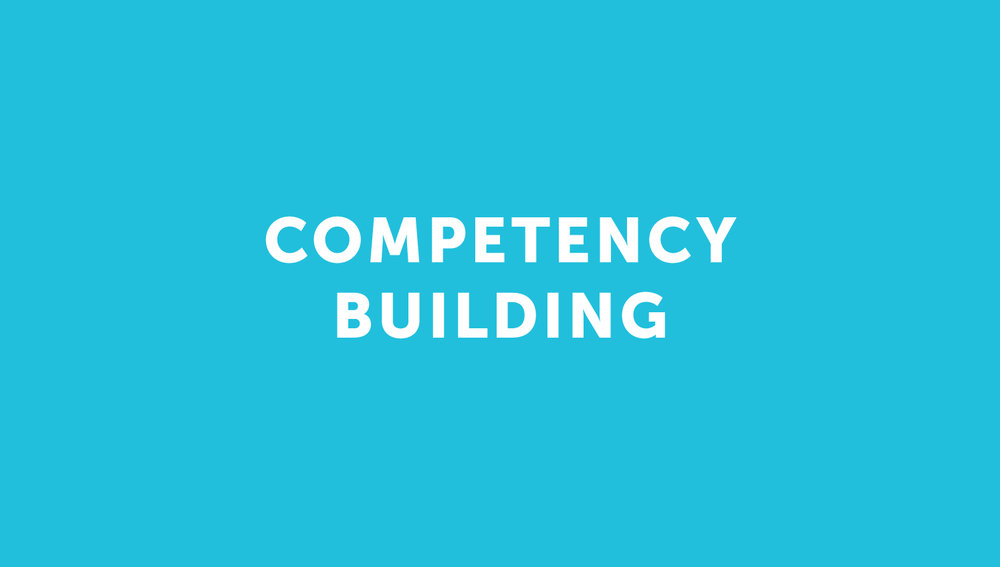 Competency building