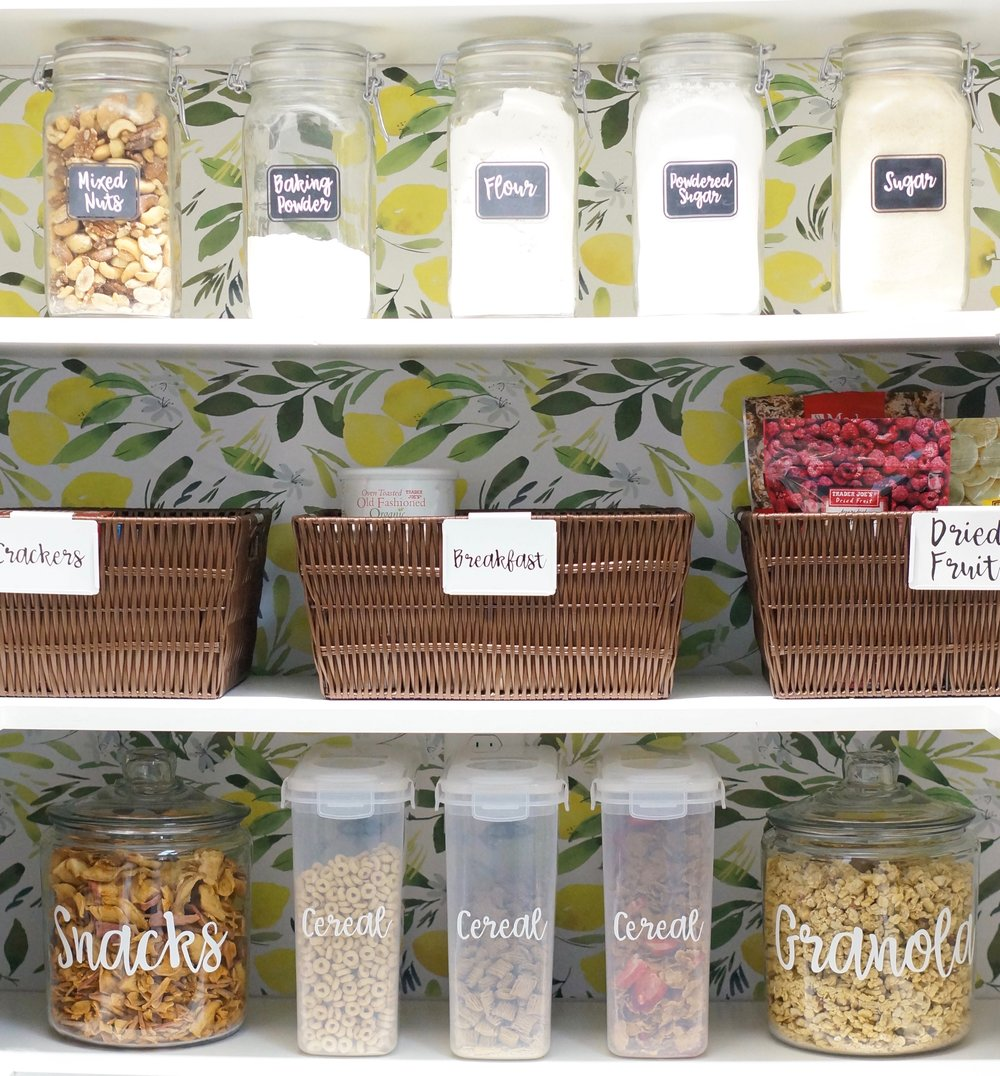 Organized Pantry and decor