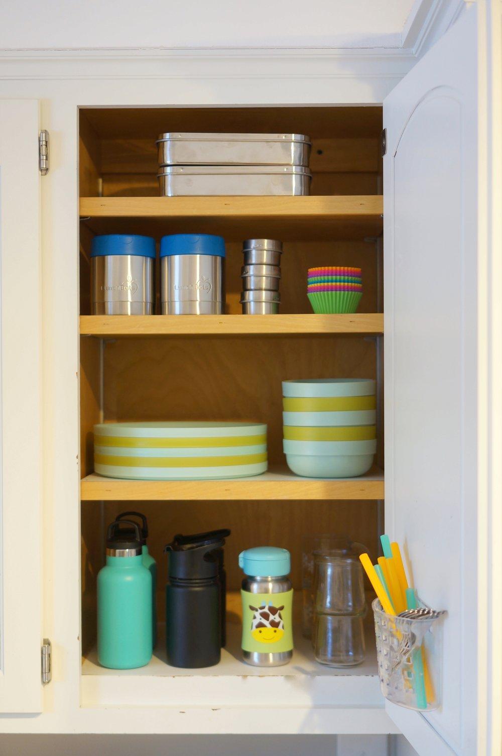 kid's dishes organization