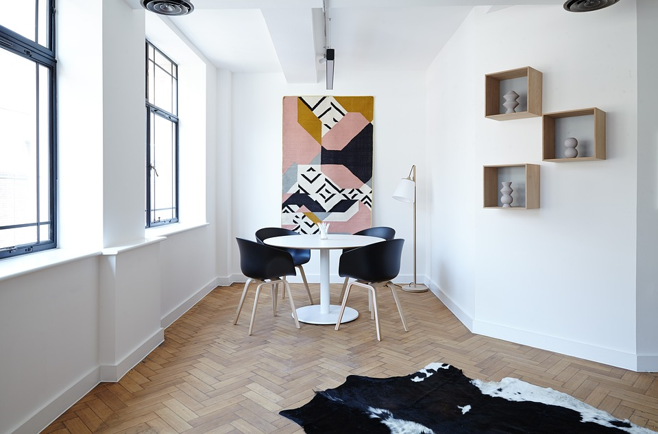 Photo: Contemporary interior, from  https://www.maxpixel.net/Chairs-Lamp-Contemporary-Interior-Design-Furniture-2181968