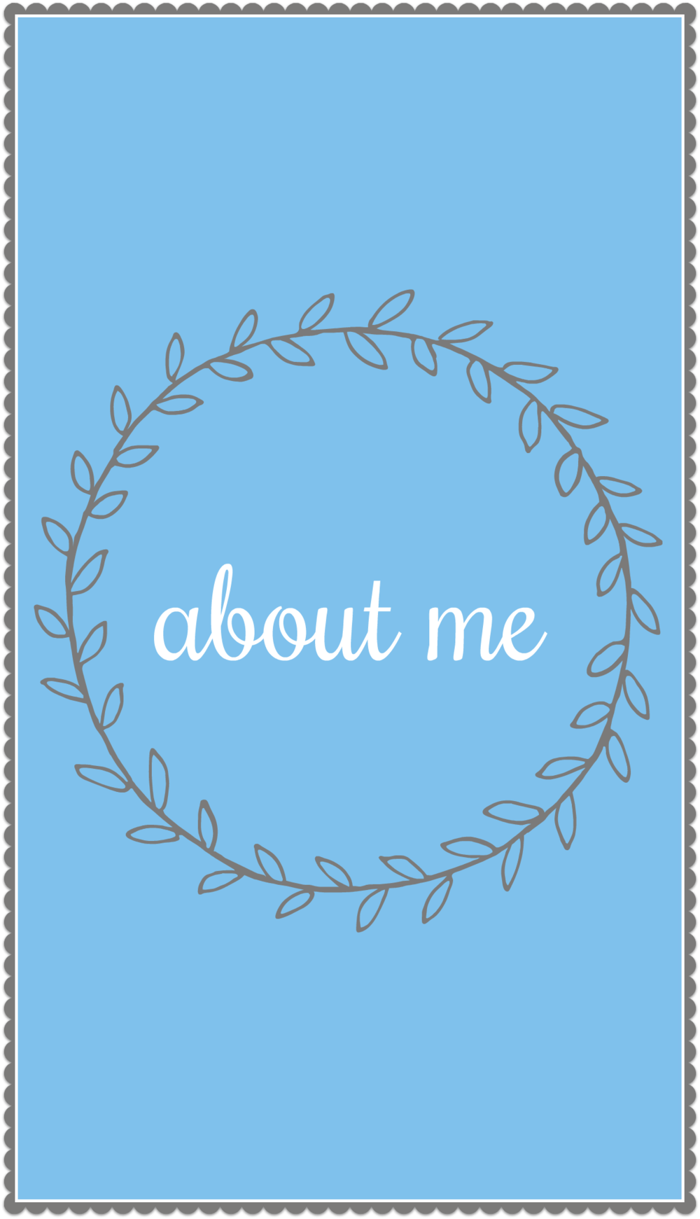 About Me Cover