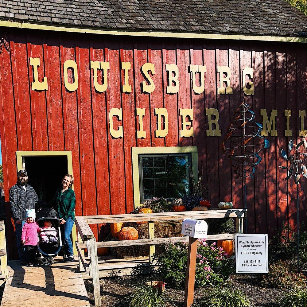 Louisburg Cider Mill - PrairieTaleTravels