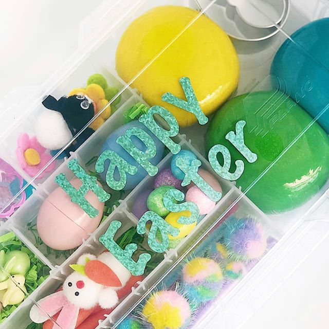 Have you grabbed your Easter Tackle Boxes yet?!? I have a few left to ship out this weekend before they're gone for good! . . As a special Thank You for being amazing customers, supporters, followers, and friends, I've teamed up with three other kit-making, kid-entertaining mamas dedicated to providing your little loves with screen-free hands-on learning and play opportunities! Check out @raisingalegacy @sunshinesensory & @quietbookqueen and their wonderful products perfect for Spring and Easter activities and be on the lookout for your 20% off coupon arriving with your order! . . #prairietaletravels #playislearning #adventureswithkids #childhoodunplugged #motherhoodunplugged #thewomoms #magicofchildhood #kidscreate #letthembekids #motherhoodsimplified #travelhacks #giftsforkids #travelbox #busybox #tacklebox #sensoryplay #sensorydough #tipsfortrips #homemadeplaydough #playdohkit #playdoughkit #playdoughfun #playfullearning #letthemplay #creativeplay #openendedplay #eastercrafts #easter2019 #easterbasketideas