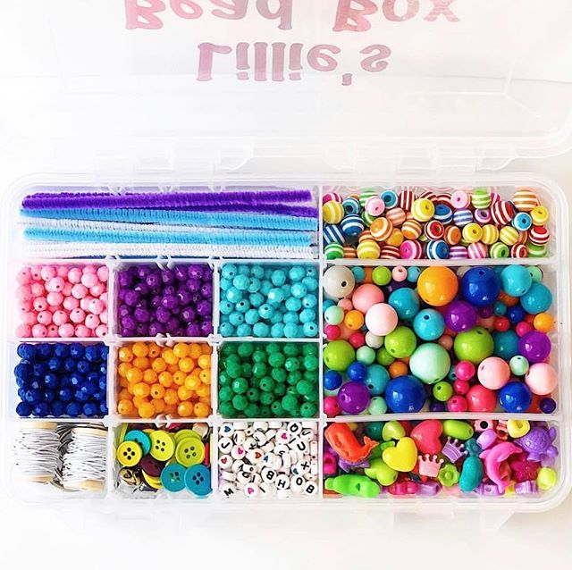 Last day for Easter orders, and there are a few Bead Boxes in stock and ready to go!! . . These guys are a perfect personalized gift for kiddos! Each Tackle Box is filled with bright and beautiful beads, fasteners, pipe cleaners, and spools of elastic for a variety of creative projects that encourage fine motor skill development! . . #prairietaletravels #playislearning #adventureswithkids #childhoodunplugged #motherhoodunplugged #thewomoms #magicofchildhood #kidscreate #letthembekids #motherhoodsimplified #travelhacks #giftsforkids #travelbox #busybox #tacklebox #playfullearning #letthemplay #creativeplay #openendedplay #beadbox #easterbasket #easterbasketideas #easter2019
